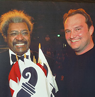 Jörn Follmer mit Don King (Basel, 2007), Box Promoter